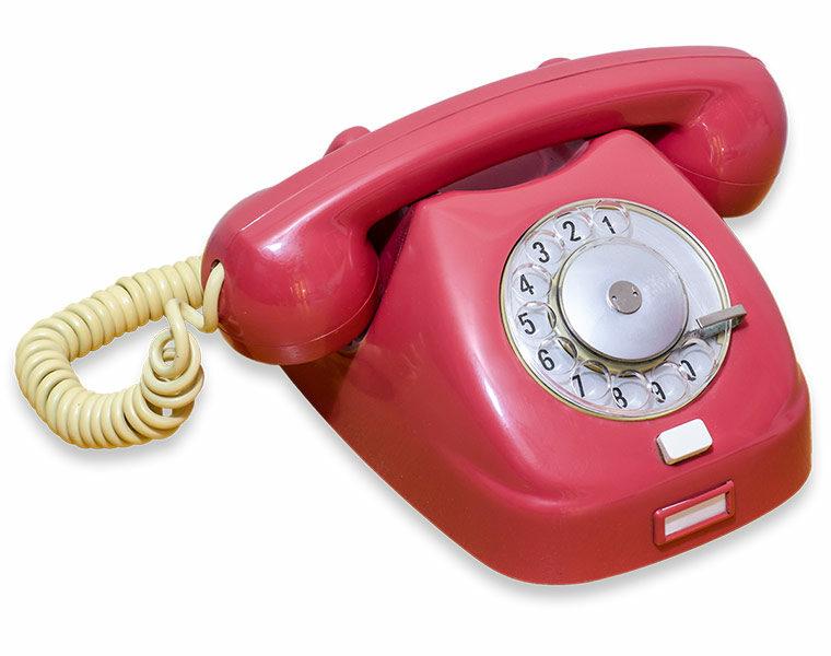 Vtedy sme takto telefonovali